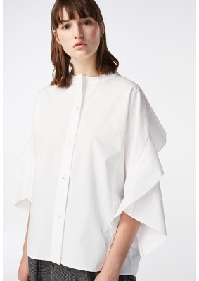 Overall Frill Shirt