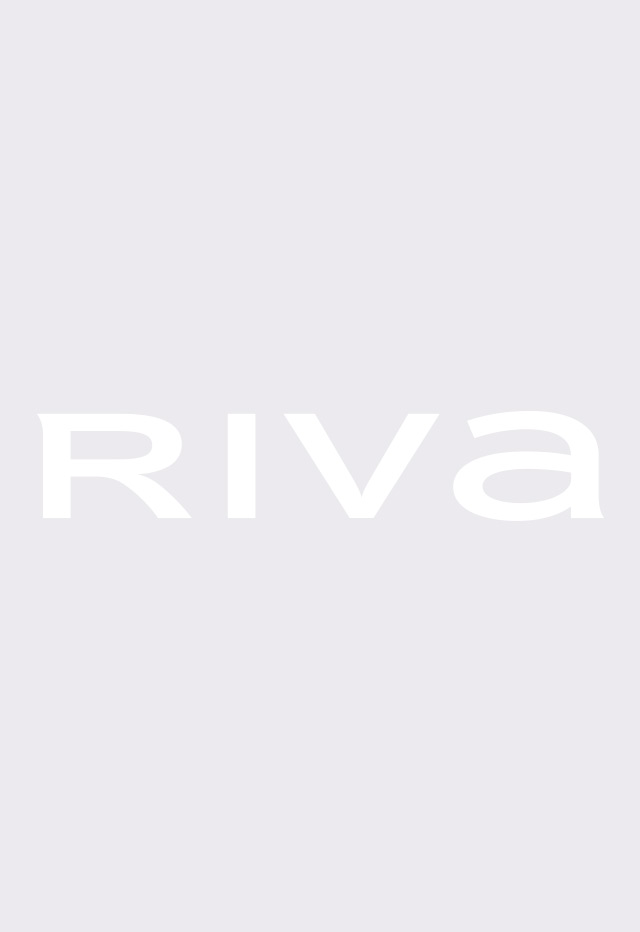 V-Neck Navy Blouse