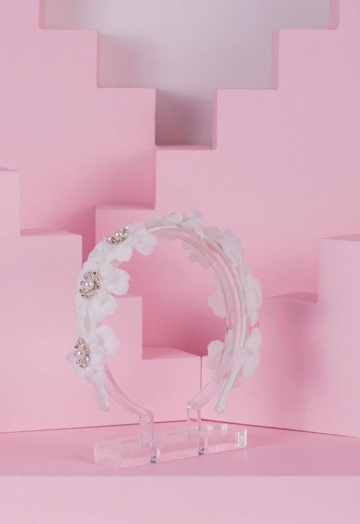 Flowery Studded Headband