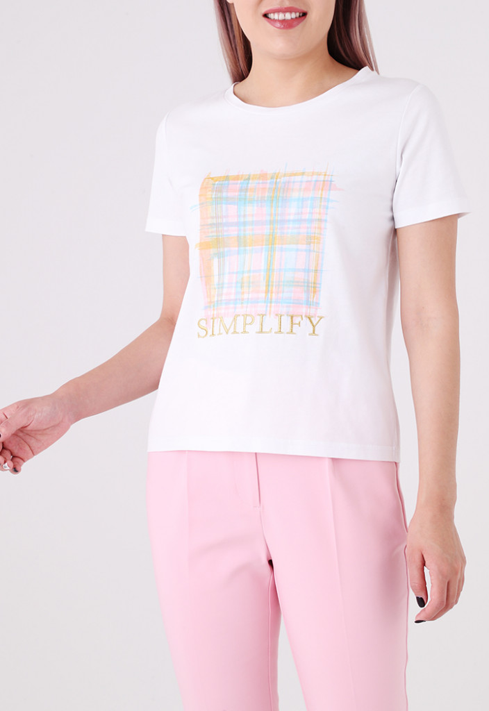 Graphic Text Print T-Shirt