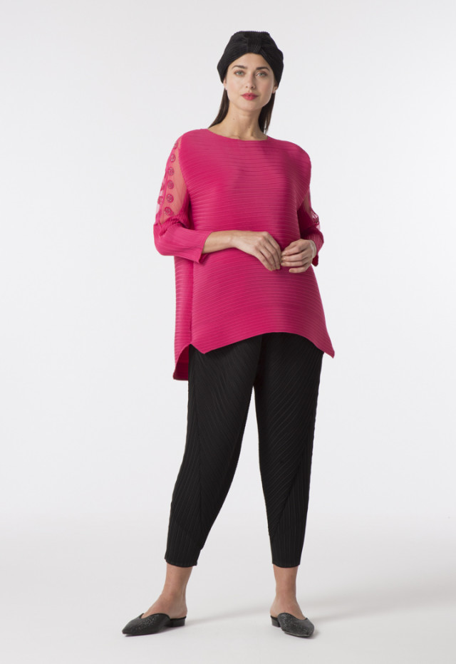 Micro Pleated Blouse