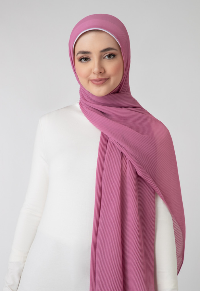 Chiffon Pleated Hijab