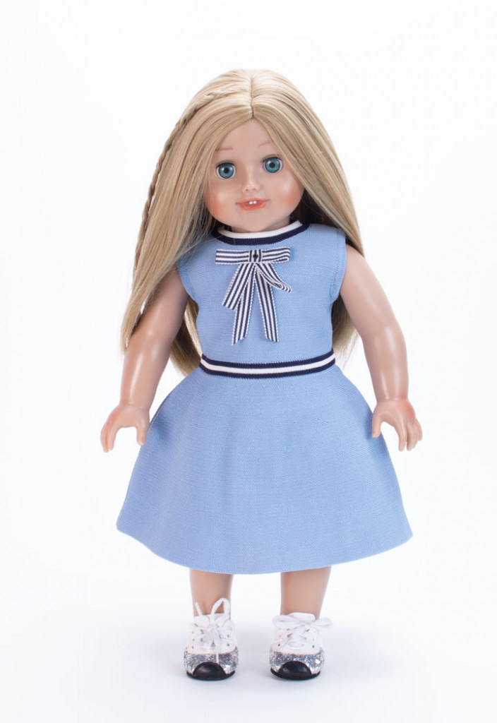 Bow Accent Dress With Mini Me Doll