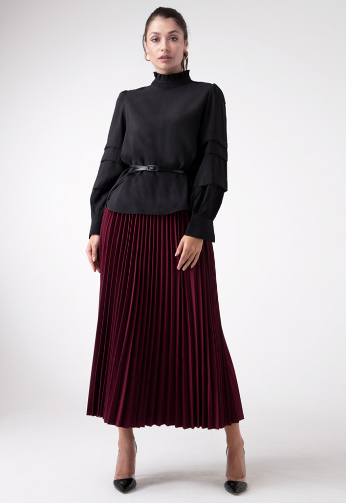 Pleated Comfy Skirt